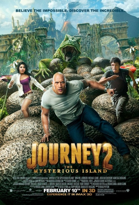 Journey 2 The Mysterious Island $20.1 million