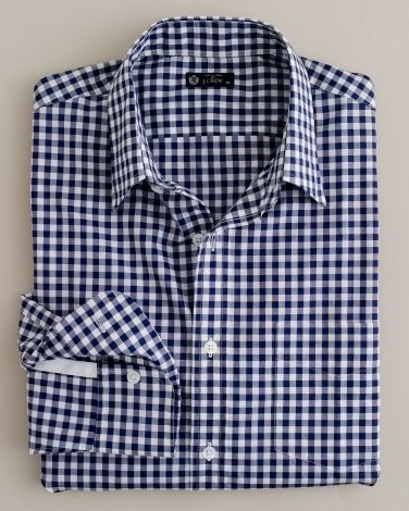 Patterned and textured shirts put this on for Navy blue gingham shirt