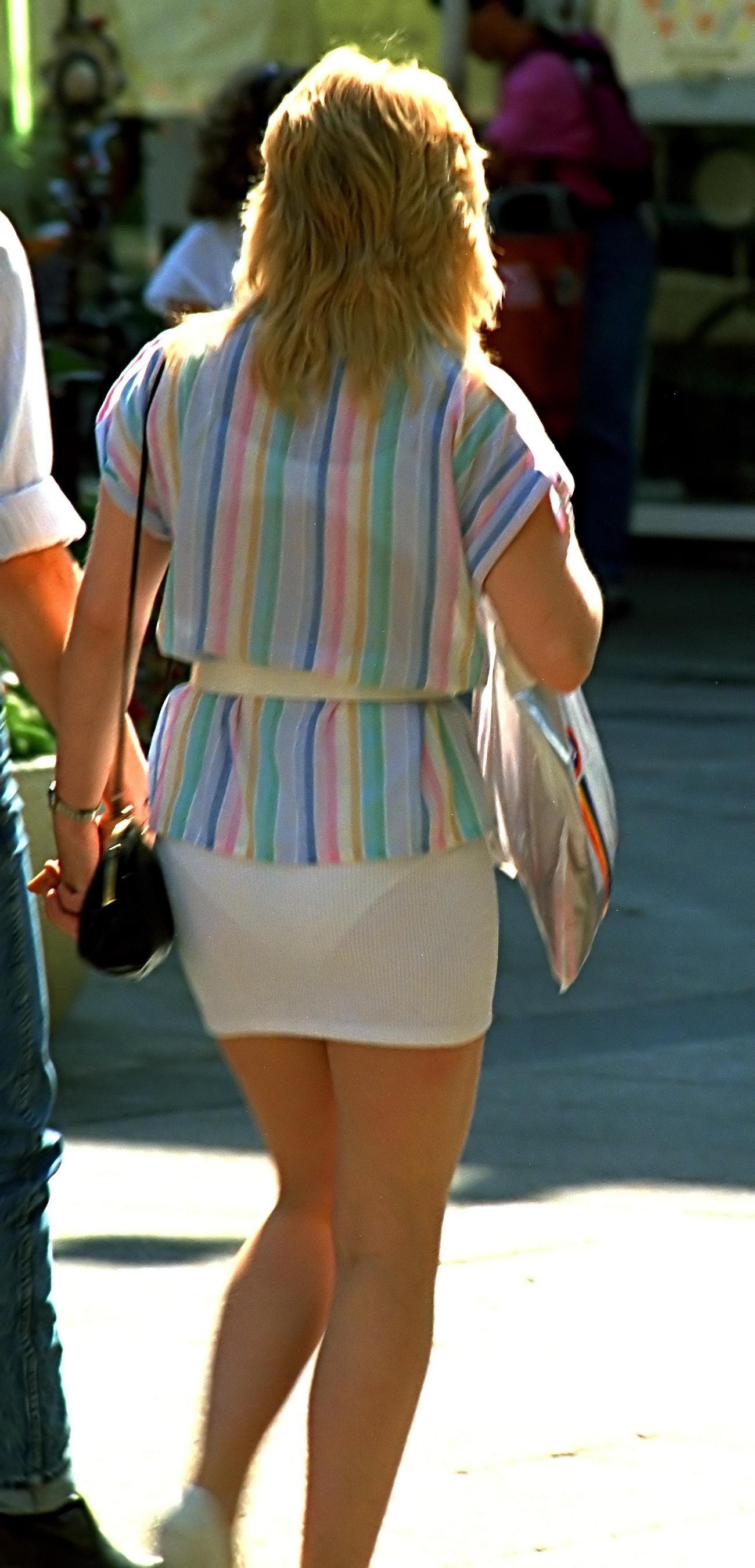 Public Panty Lines In#5